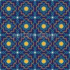 Arabisches Gewirr Nahtloses Vektormuster