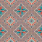 Palästinensische Stickerei Impression Nahtloses Vektormuster