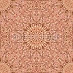 Kaleidoskopische Impression Nahtloses Vektormuster