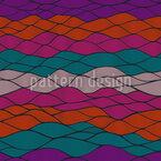 Wellen Impression Nahtloses Vektormuster