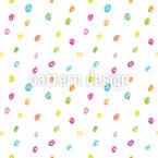 Crayon Dots Seamless Vector Pattern Design