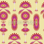 Boa Pink Seamless Vector Pattern Design