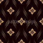 Noble Damask Impression Seamless Vector Pattern Design