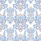 Celestial Flower Embellishments Seamless Vector Pattern Design