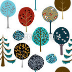 Tree Nursery Vector Ornament
