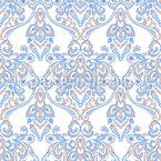 Delicate Flower Embellishments Seamless Vector Pattern Design