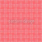 Gitter Flamingo Nahtloses Vektor Muster
