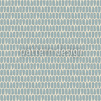 Scale Skin Blue Seamless Vector Pattern Design