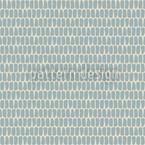 Schuppenkleid Blau Rapportiertes Design