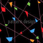 Liniengeometrie Nahtloses Vektormuster