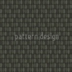 Scale Skin Black Seamless Vector Pattern Design