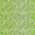 Frühlingshafte Blätter Nahtloses Vektormuster