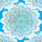 Flower Veil Seamless Vector Pattern Design