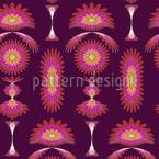 Boa Purple Seamless Vector Pattern Design