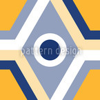 Geometro Gelb Vektor Muster