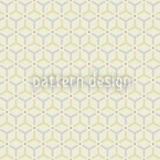 Maroc Yellow Seamless Vector Pattern Design