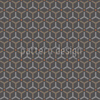 Maroc Charcoal Seamless Vector Pattern Design