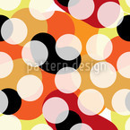 Aboriginal Colors Seamless Vector Pattern Design