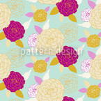 Pompon Rose Musterdesign