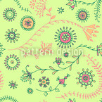 Mellow Verve Seamless Vector Pattern Design