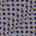 Gris Dotty Estampado Vectorial Sin Costura