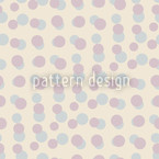 Pastel de Dotty Estampado Vectorial Sin Costura
