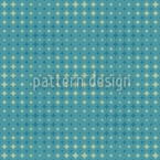 Teal Diamond Repeating Pattern