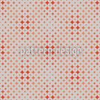 Roter Diamant Nahtloses Vektormuster