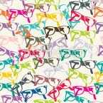 Klarsicht Brille Muster Design