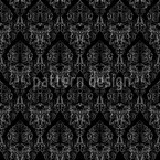 Damask Texture Seamless Vector Pattern Design