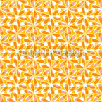 Desert Flower Seamless Vector Pattern Design