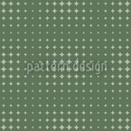 Starlight Express Green Repeating Pattern