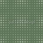 Starlight Express Grün Nahtloses Vektormuster