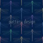 Libella Blau Designmuster