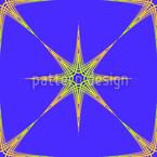 Stern Des Ostens Nahtloses Vektormuster
