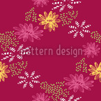 Nula Fucsia II Seamless Vector Pattern Design