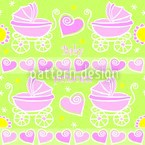 Neon Baby Pink Seamless Vector Pattern Design