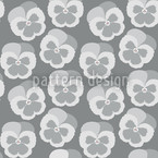 Violetta Grey Vector Pattern