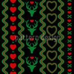 Mating Season Extreme Seamless Vector Pattern Design