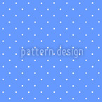 Dots On Blue Seamless Vector Pattern Design
