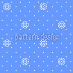 Vintage Florets Seamless Vector Pattern Design