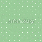 Dots On Green Seamless Vector Pattern Design