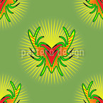 Bunte Jagd Pattern Design