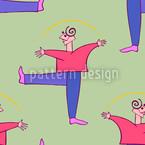Danza Colori Design de padrão vetorial sem costura