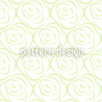 Rosabella Green Seamless Vector Pattern Design