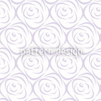 Rosabella Purple Seamless Vector Pattern Design