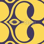 Endlosschleifen Im Detail Nahtloses Vektor Muster