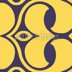 Infinite Loop Detail Seamless Vector Pattern