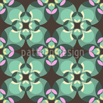 Esmeralda Green Vector Pattern