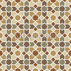 Morocco Brown Seamless Vector Pattern Design